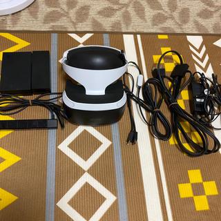 プレイステーションヴィーアール(PlayStation VR)のプレステーション vr +ソフト2本中古商品(家庭用ゲーム機本体)