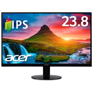 エイサー(Acer)のacer 新品未使用 24インチモニター元値14238円(ディスプレイ)