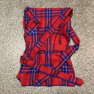 ヴィヴィアンウエストウッド(Vivienne Westwood)のボンテージ スカート(ひざ丈スカート)