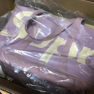シュプリーム(Supreme)のSupreme Raffia Tote Purple シュプリーム トートバッグ(トートバッグ)