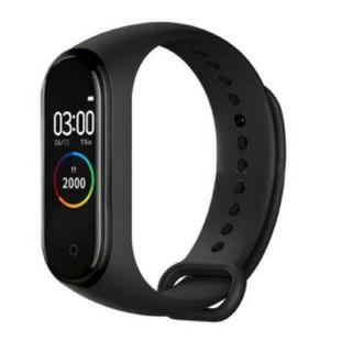 スマートウオッチ ブレスレット 活動量計 レッド(腕時計(デジタル))