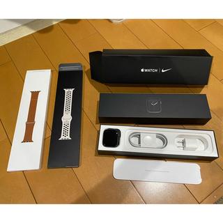 アップルウォッチ(Apple Watch)のApple Watch 5 Nike GPS 44mm スペースグレイ(腕時計(デジタル))