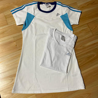adidas - アディダス レディース トレーニングウェア Tシャツ2点セット Mサイズ