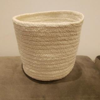 MUJI (無印良品) - 限定値下 無印良品 FOUND MUJI 青山 限定 インド綿組紐 バスケット