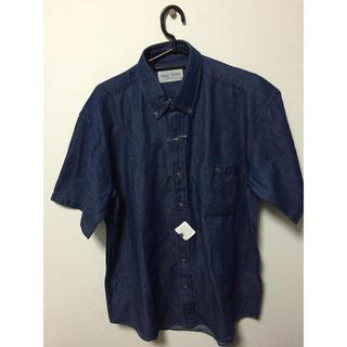 アクアブルー(Aqua blue)の新品 半袖 シャツ(Tシャツ/カットソー(半袖/袖なし))