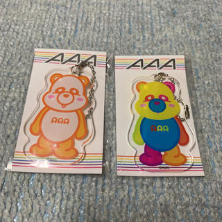 トリプルエー(AAA)のAAA アクリルダイカットキーチェーン トレーディングカード(ミュージシャン)