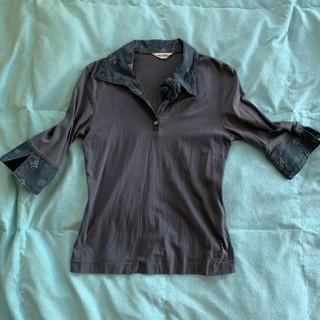 インゲボルグ(INGEBORG)のインゲボルグ コサージュ カットソー(カットソー(半袖/袖なし))