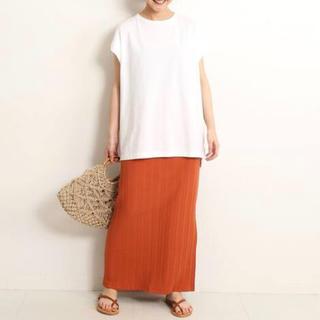 IENA SLOBE - SLOBE IENA イエナ 針抜きフライススカート 日本製 人気色 夏