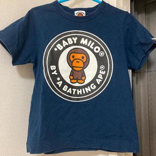 アベイシングエイプ(A BATHING APE)のエイプ Tシャツ 半袖 100 ベイプ ベイプキッズ APE(Tシャツ/カットソー)