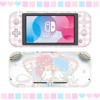 ニンテンドースイッチ(Nintendo Switch)の◎SALE◎ キキララ③ 任天堂SwitchLite 保護スキンシール✦汚れ防止(その他)