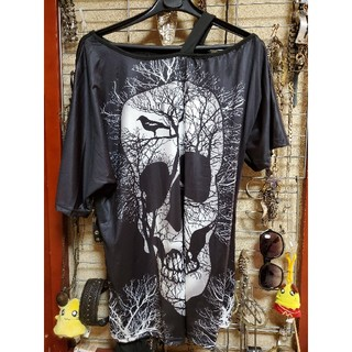 スライ(SLY)のopen shoulder cutsew(Tシャツ/カットソー(半袖/袖なし))