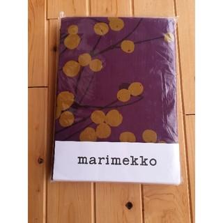 マリメッコ(marimekko)のmarimekko ベッド カバー ルミマルヤ 紫  シングル 寝具(シーツ/カバー)