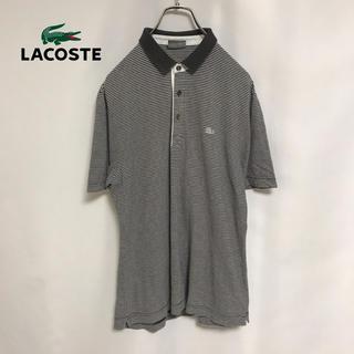 ラコステ(LACOSTE)のLACOSTE ラコステ ポロシャツ メンズ カットソー 白ワニ 希少(ポロシャツ)