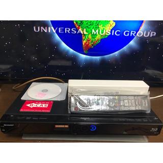 アクオス(AQUOS)のAQUOS BD-W515 W録HDD500GB 新品リモコン付(ブルーレイレコーダー)