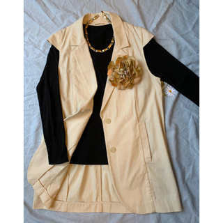 エイチアンドエム(H&M)のジャケット 夏のジャケット M〜XL 美品(テーラードジャケット)
