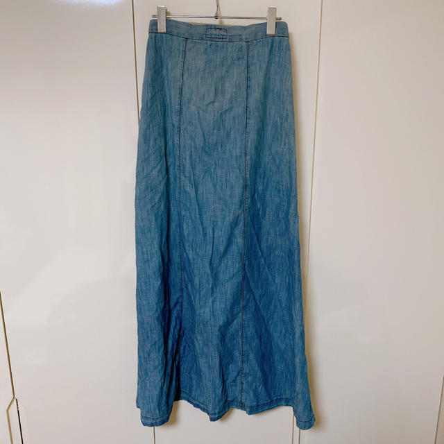 Current Elliott(カレントエリオット)のカレントエリオット デニムスカート 23 レディースのスカート(ロングスカート)の商品写真
