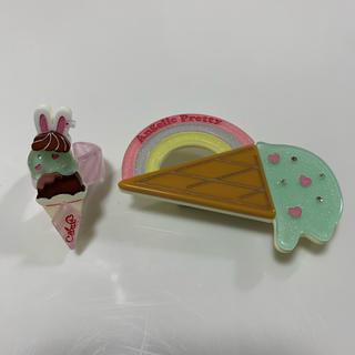 Angelic Pretty - 二点セット ANGELIC PRETTY Rainbow Ice Cream