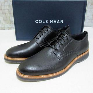 コールハーン(Cole Haan)の新品箱入り COLE HAAN レースアップシューズ ブラック革靴 27cm(ドレス/ビジネス)