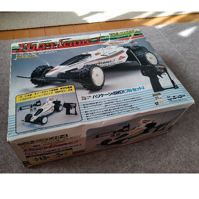 NIKKO(ニッコー)のニッコー フレームバギー ハリケーン4WD ラジコンカー 中古品 エンタメ/ホビーのおもちゃ/ぬいぐるみ(トイラジコン)の商品写真