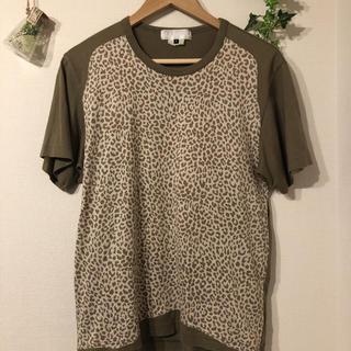 ガンリュウ(GANRYU)のGANRYU レオパード柄Tシャツ(Tシャツ/カットソー(半袖/袖なし))