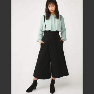 SLY - 新品 SLY CORSET TUCK WIDE SALOPETTEPT