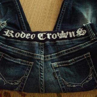ロデオクラウンズワイドボウル(RODEO CROWNS WIDE BOWL)のRODEO  ストレッチダメージデニム(デニム/ジーンズ)