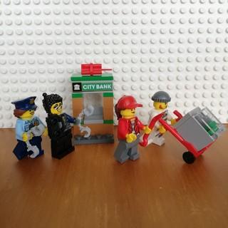 レゴ(Lego)のレゴ シティ ミニフィグ ドロボウ、警察官、ATMセット(キャラクターグッズ)