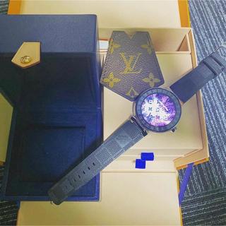 ルイヴィトン(LOUIS VUITTON)のタンブールホライゾン  VUITTON腕時計(腕時計(デジタル))