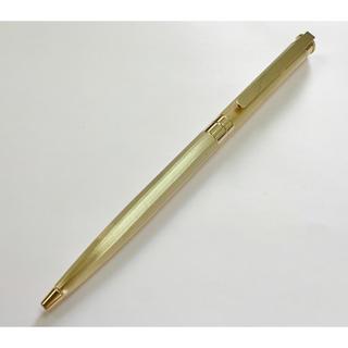 モンブラン(MONTBLANC)の美品 モンブラン ボールペン ノブレス ゴールド montblanc(ペン/マーカー)