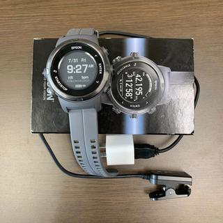 エプソン(EPSON)のエプソンランニングウォッチJ350(ランニング/ジョギング)
