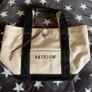 ベイフロー(BAYFLOW)のBAYFLOW コンチョロゴトート(トートバッグ)