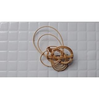 カスタネ(Kastane)の籐(ラタン)のhair accessory(バレッタ/ヘアクリップ)