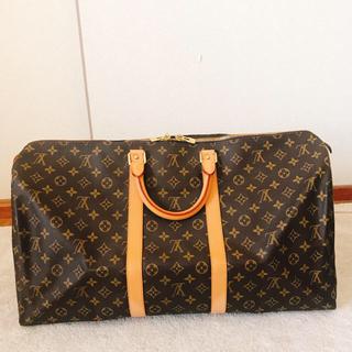 ルイヴィトン(LOUIS VUITTON)のヴィトン キーポル55(トラベルバッグ/スーツケース)
