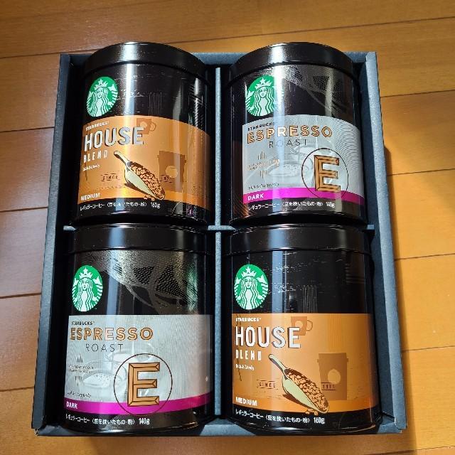 Starbucks Coffee(スターバックスコーヒー)のSTARBUCKS コーヒー豆セット 食品/飲料/酒の飲料(コーヒー)の商品写真