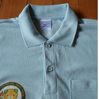 MIZUNO - MIZUNO×みきゃん ポロシャツ  ライトブルー