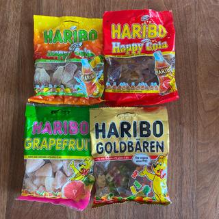 ゴールデンベア(Golden Bear)の【3H33様専用】ハリボー グミ×4個 HARIBO(菓子/デザート)