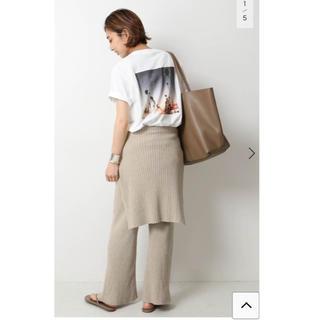 ドゥーズィエムクラス(DEUXIEME CLASSE)の未使用タグ付 Deuxieme Classe Photo T-shirt(Tシャツ(半袖/袖なし))