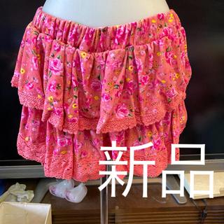 ピンクラテ(PINK-latte)の新品ピンクラテキュロットスカート定価3465円サイズM(ミニスカート)