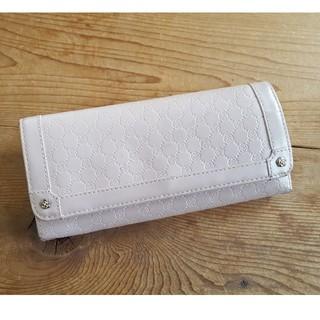 クレイサス(CLATHAS)の【CLATHAS】薄ピンクの長財布(財布)
