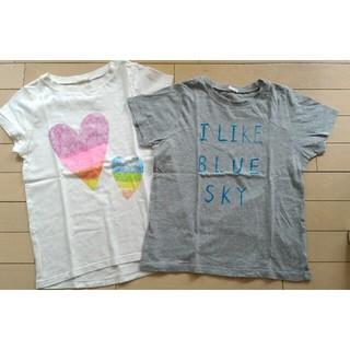 GU - GU 女児150cm 半袖Tシャツ2枚セット