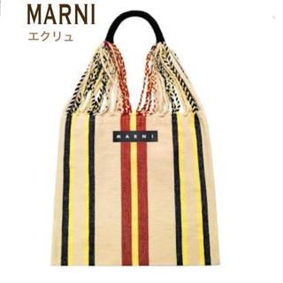 マルニ(Marni)のMARNI  MARNIMARKET ハンモックバッグ(かごバッグ/ストローバッグ)
