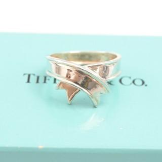 ティファニー(Tiffany & Co.)の【USED】TIFFANY&CO. ティファニー リボン シルバーリング 14号(リング(指輪))