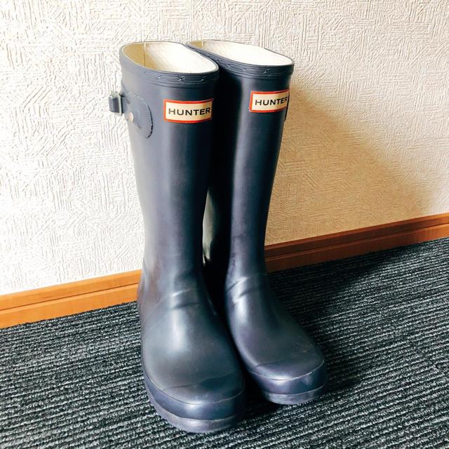 HUNTER(ハンター)のハンター レインブーツ 21cm キッズ/ベビー/マタニティのキッズ靴/シューズ(15cm~)(長靴/レインシューズ)の商品写真