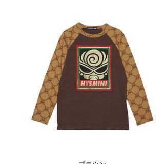ヒステリックミニ(HYSTERIC MINI)のブラウン105(Tシャツ/カットソー)