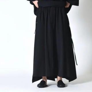 ヨウジヤマモト(Yohji Yamamoto)のbishool ウールギャバジン着物スカート(サルエルパンツ)