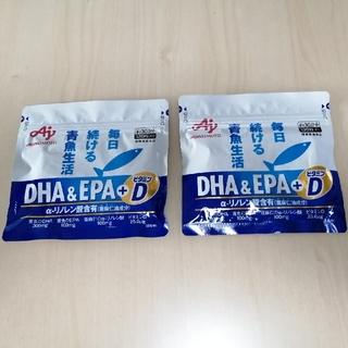 アジノモト(味の素)のDHA&EPA+ビタミンD  120粒 × 2袋 味の素(その他)