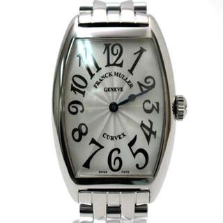 フランクミュラー(FRANCK MULLER)の【新品同様】フランクミュラー トノーカーベックス 7502QZ クォーツ 磨き済(腕時計)