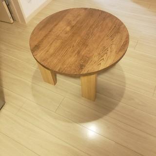 丸テーブル 座卓 ちゃぶ台 ハンドメイド(ローテーブル)