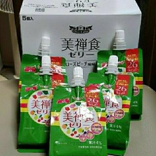 ドクターシーラボ(Dr.Ci Labo)のシーラボ 美禅食ゼリー ローズピーチ × 5個セット 《新品》(ダイエット食品)