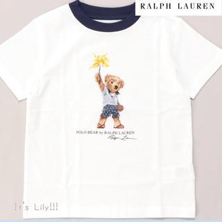 Ralph Lauren - 5t115cm 新作 国内完売 半額 ラルフローレン ベアプリント T